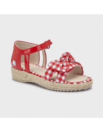 Sandali yuta vichy bambina