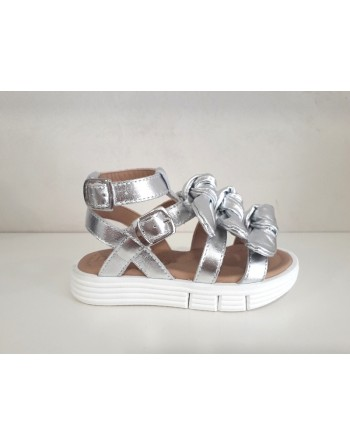 Sandalo laminato argento...