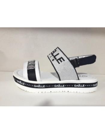 Sandalo gaelle white/black...